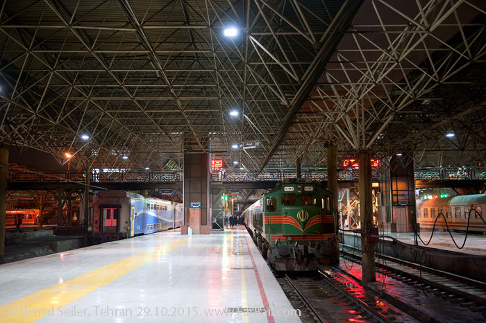 Railways in Iran