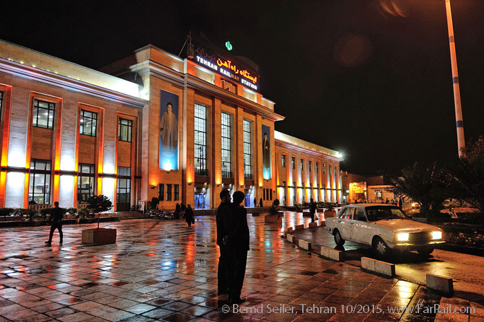 Railways in Iran: Tehran main station