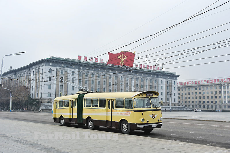 Railway photo tour to North Korea
