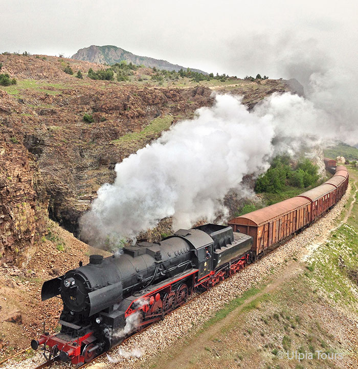 Steam in Bulgaria: class 16