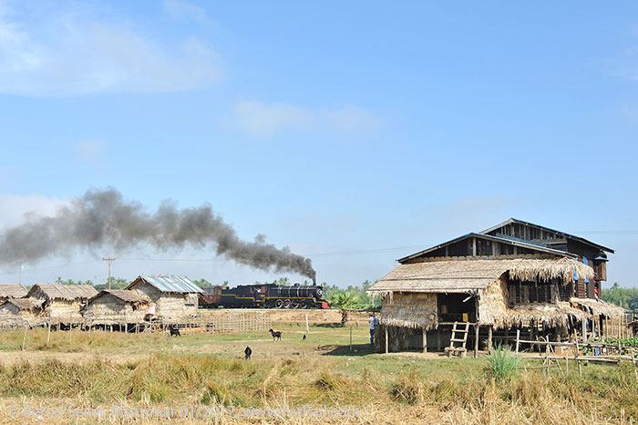 State Railway Steam in Myanmar/Burma