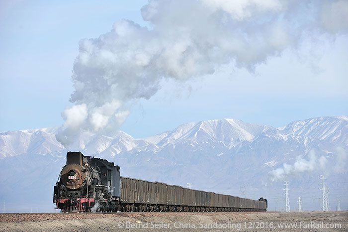 Winter-steam in China: Sandaoling