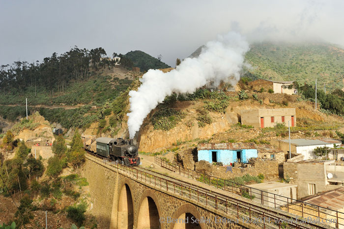 Steam in Eritrea: Arbaroba