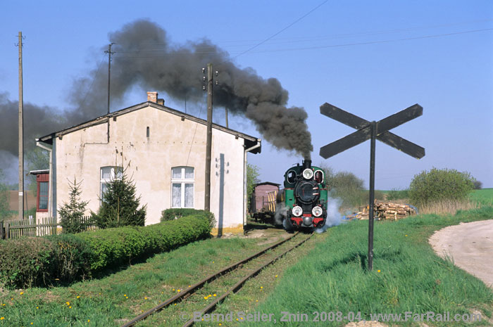 Narrow gauge line Znin