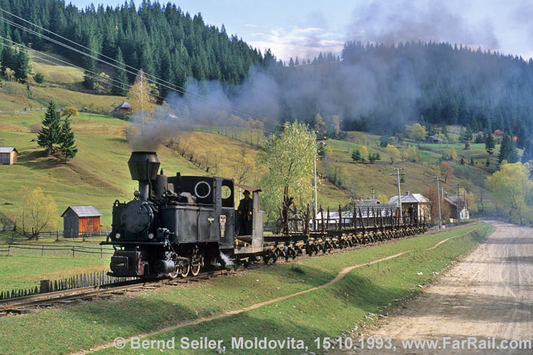 Foresty railway Moldovita at the (almost) good old times