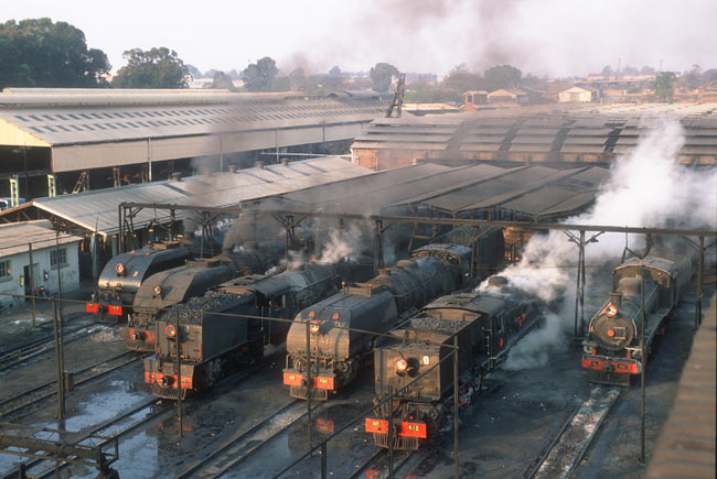 Bulawayo steam shed