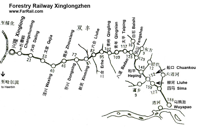 map Xinglong